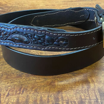 Australian Stockman's Leather Belt