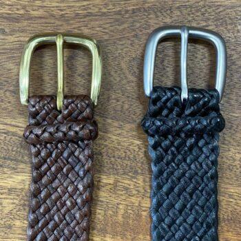 Kangaroo Leather Belt - Drover 12 Strand (35mm)