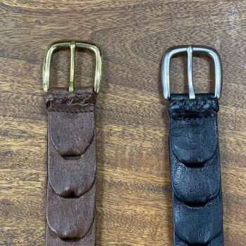 Kangaroo Leather Belt - Maranoa Link Belt (32mm)