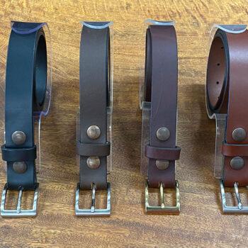 Full Grain Leather Dress Belt