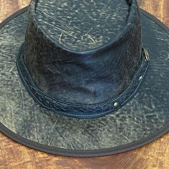 Stonewash Kangaroo Leather Hat