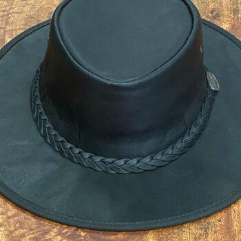 Best Kangaroo Leather Hat - Black