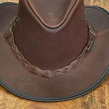 Kangaroo Leather Hat > Cracker Jack.