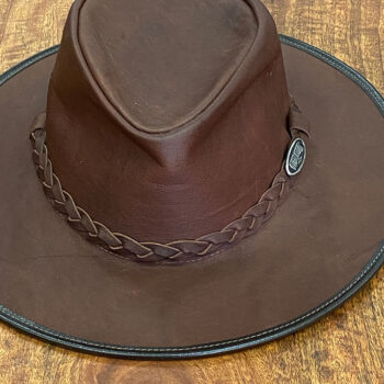 Kangaroo Leather Hat > The Outback
