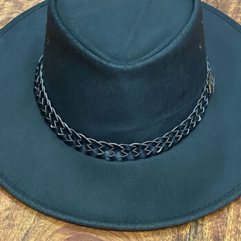 Waxed Leather Hat