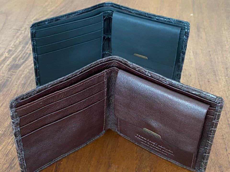 Men's Crocodile Wallet