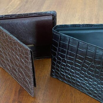 Men's Crocodile Wallet (ID Flap)