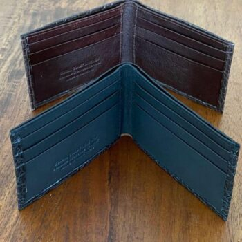 Slimline hip pocket wallet