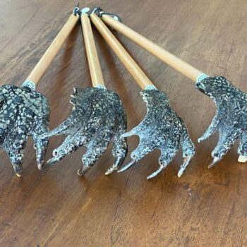 Crocodile Foot Backscratcher
