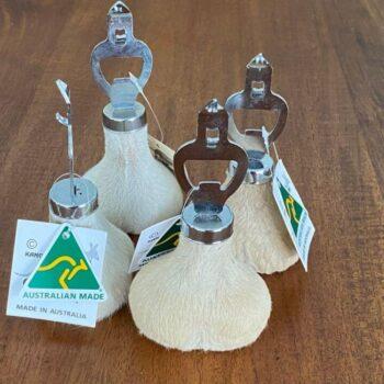 Kangaroo Scrotum Bottle Opener